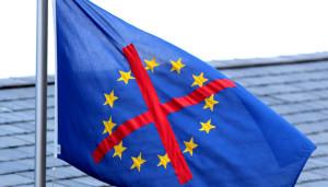欧洲怀疑主义的反欧盟旗帜(来源:Debating Europe)