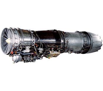 """F414 - 用于F/A-18""""超级大黄蜂""""舰载攻击机、印度""""光辉""""MK-2歼击机等""""三代机"""",1998年开始服役"""