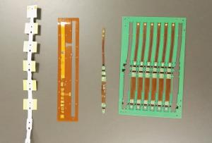 相对于传统电子产品,可穿戴设备对电路板和芯片在材料和功能方面都有特殊的要求。/ Gina 摄